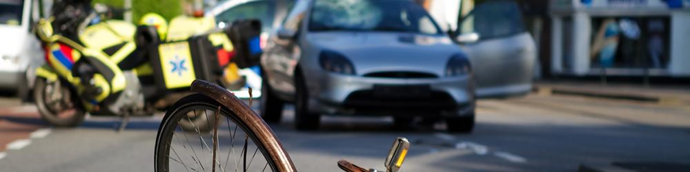 verkeersongeluk en hulpverlening
